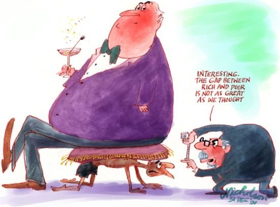 Ricah and poor gap